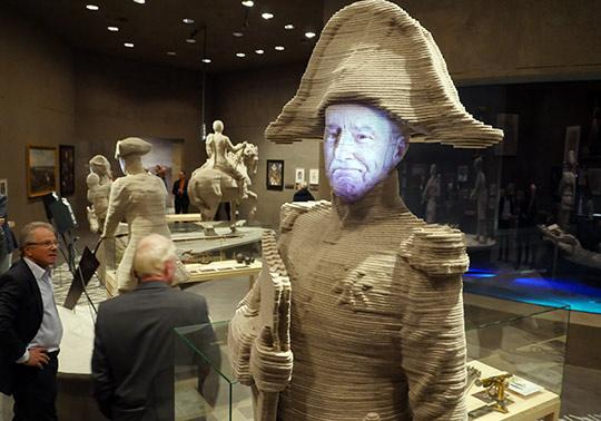 vilt sculptuur annerose waterlinie museum Kraijenhoff