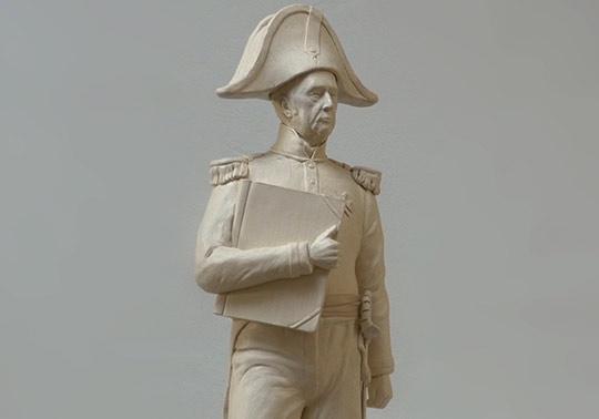 waterliniemuseum, Kraijenhoff, sculptuur, model, historische beeld, tentoonstelling, annerose, platvorm